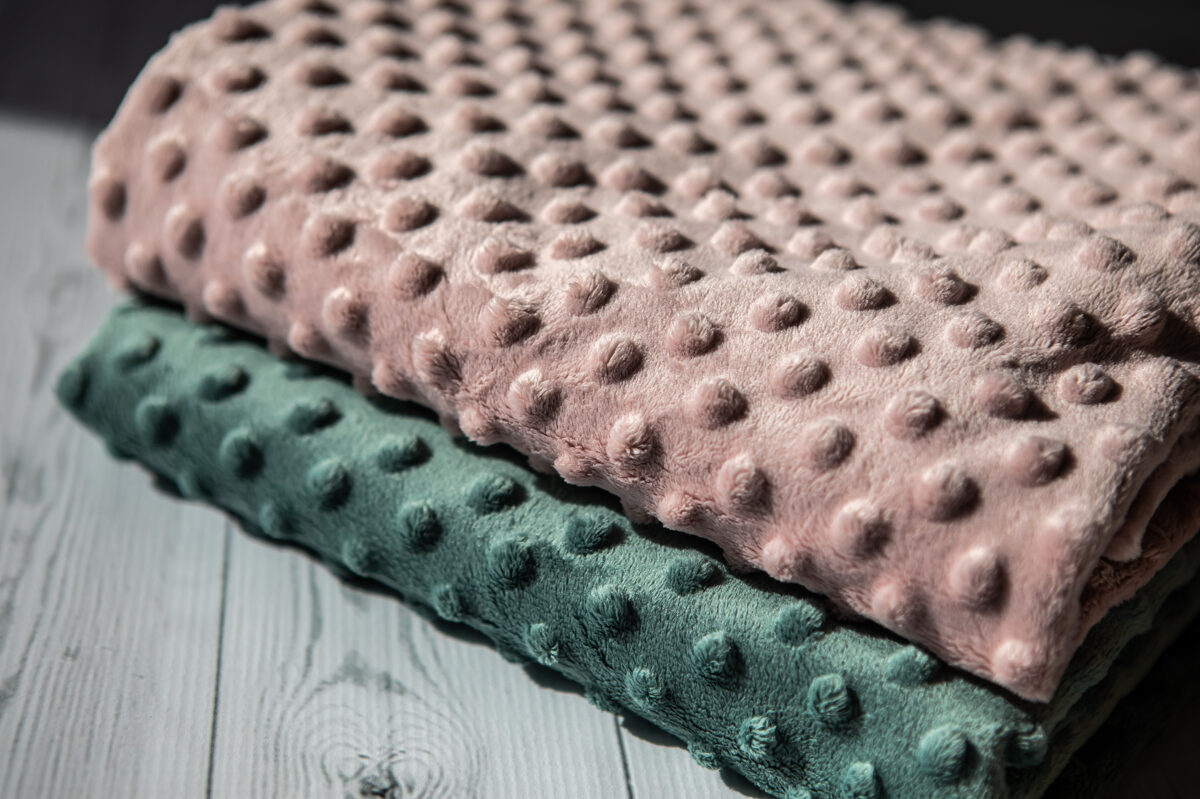 mīksta flīsa sedziņa - rozā